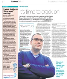 EADT - Its time to crack on
