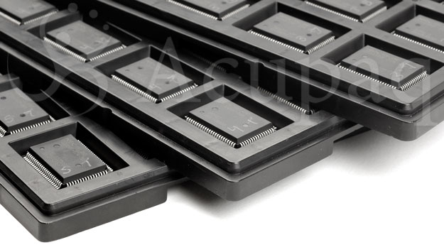 Qfp Package Jedec / Waffle Trays A...